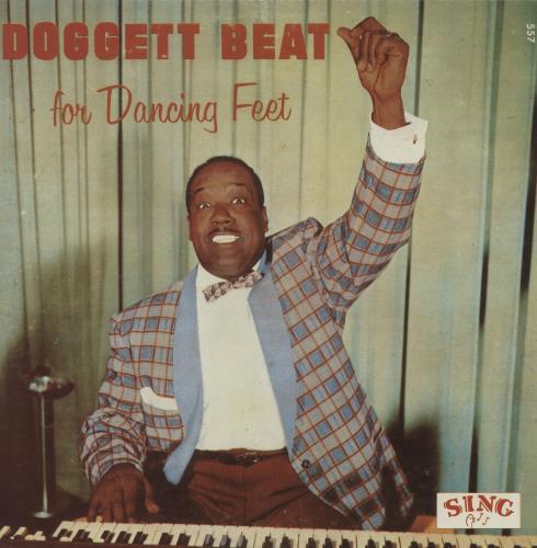 Bill Doggett The Doggett Beat For Happy Feet vinyl LP album (LP record) Danish BTJLPTH754441