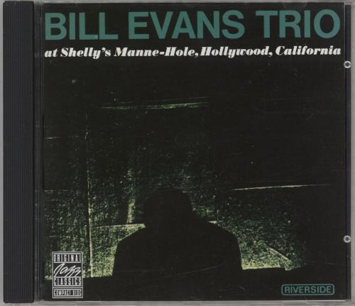 Bill Evans (Piano) At Shelley's Manne-Hole, Hollywood, California CD album (CDLP) German BLVCDAT734166