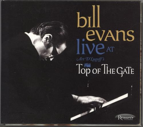Bill Evans (Piano) Live At Art D'Lugoff's Top Of The Gate 2 CD album set (Double CD) US BLV2CLI737492