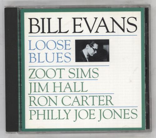 Bill Evans (Piano) Loose Blues CD album (CDLP) US BLVCDLO738447