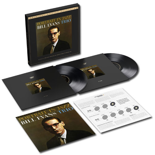 Bill Evans (Piano) Portrait In Jazz - UltraDisc One-Step Vinyl Box Set US BLVVXPO723505