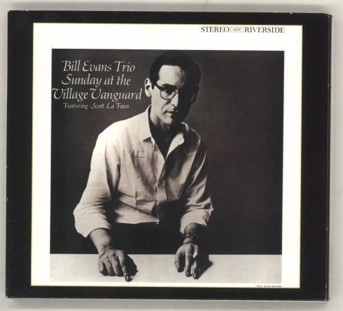 Bill Evans (Piano) Sunday At The Village Vanguard CD album (CDLP) German BLVCDSU734193
