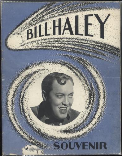 Bill Haley & The Comets 1957 Tour Concert Souvenir Programme tour programme UK BHYTRTO718309