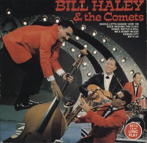 "Bill Haley & The Comets Bill Haley & The Comets 7"" vinyl single (7 inch record) UK BHY07BI712962"