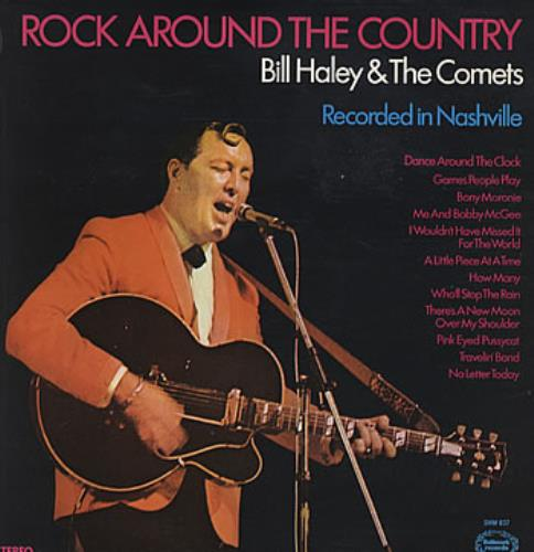 Bill Haley & The Comets Rock Around The Country vinyl LP album (LP record) UK BHYLPRO317197