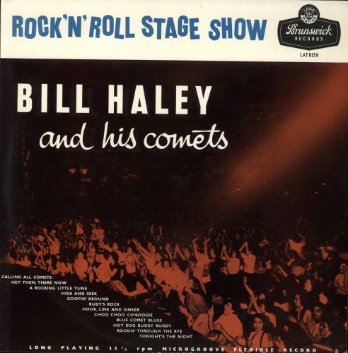 Bill Haley & The Comets Rock 'n' Roll Stage Show vinyl LP album (LP record) UK BHYLPRO516439