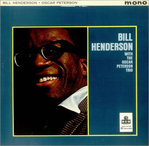 Bill Henderson Bill Henderson With The Oscar Peterson Trio vinyl LP album (LP record) UK BH9LPBI456015