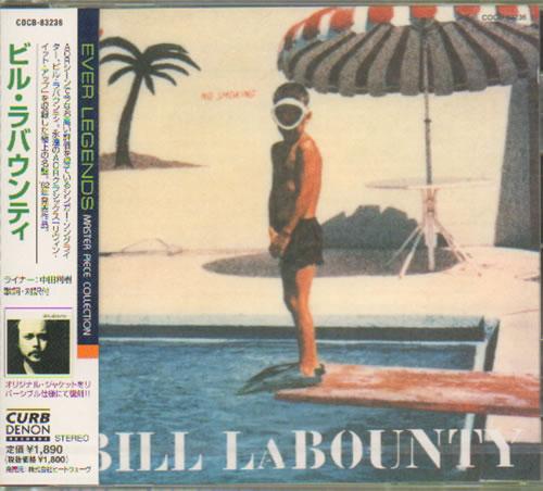 Bill LaBounty Bill LaBounty Japanese Promo CD album (CDLP)