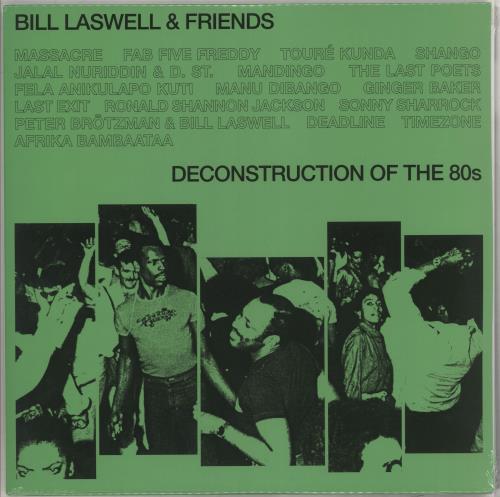 Bill Laswell Deconstruction Of The 80s - Sealed vinyl LP album (LP record) UK BC9LPDE734414