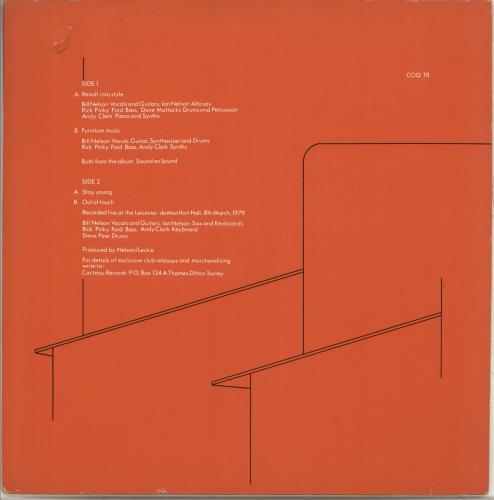 "Bill Nelson Bill Nelson's Red Noise 12"" vinyl single (12 inch record / Maxi-single) UK BSN12BI717954"