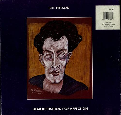 Bill Nelson Demonstrations Of Affection box set UK BSNBXDE137483