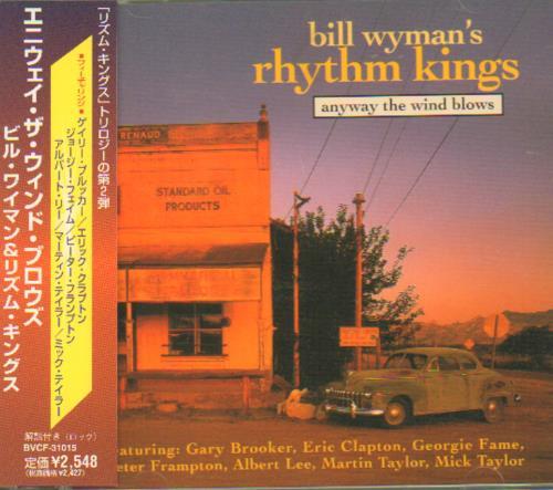 Bill Wyman Anyway The Wind Blows CD album (CDLP) Japanese WYMCDAN148173