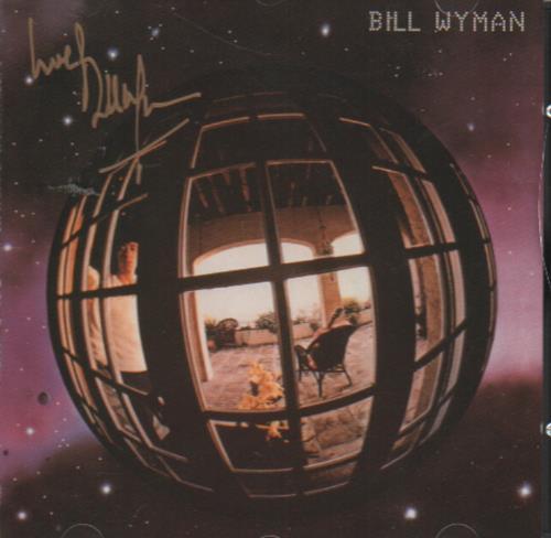 Bill Wyman Bill Wyman - Autographed CD album (CDLP) UK WYMCDBI648547