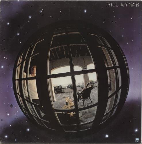 Bill Wyman Bill Wyman - Gold Promo Stamp vinyl LP album (LP record) UK WYMLPBI708178