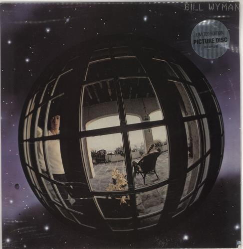 Bill Wyman Bill Wyman - Stickered PVC picture disc LP (vinyl picture disc album) UK WYMPDBI51120