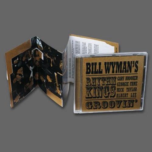 Bill Wyman Groovin' CD album (CDLP) UK WYMCDGR502573