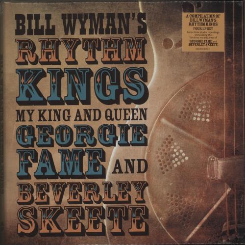 Bill Wyman My King And Queen: Georgie Fame And Beverley Skeete Vinyl Box Set UK WYMVXMY686964