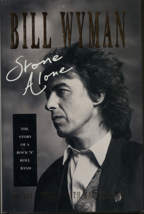 Bill Wyman Stone Alone book US WYMBKST617150