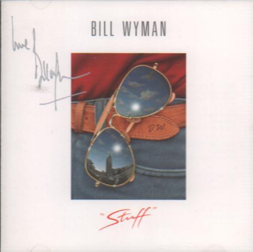 Bill Wyman Stuff - Autographed CD album (CDLP) UK WYMCDST648549