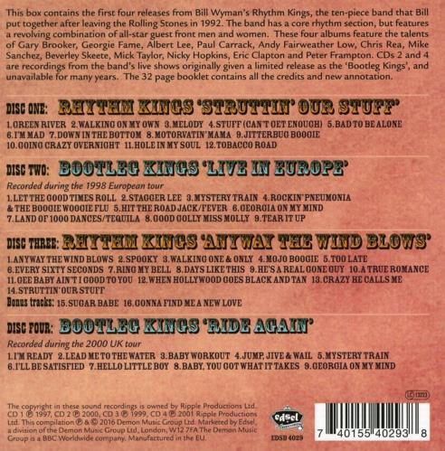 Bill Wyman The Kings of Rhythm Volume 1: Jump Jive and Wail - Sealed CD Album Box Set UK WYMDXTH673558