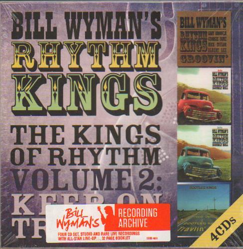 Bill Wyman The Kings Of Rhythm Volume 2: Keep On Truckin' CD Album Box Set UK WYMDXTH664736