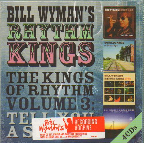 Bill Wyman The Kings Of Rhythm Volume 3: Tell You A Secret CD Album Box Set UK WYMDXTH664735