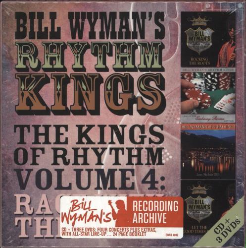 Bill Wyman The Kings Of Rhythm Volume 4: Race With The Devil - Sealed DVD UK WYMDDTH715993
