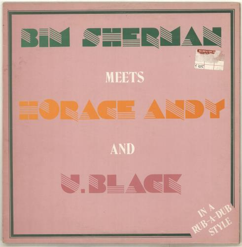 Bim Sherman In A Rub-A-Dub Style vinyl LP album (LP record) UK BV-LPIN715998