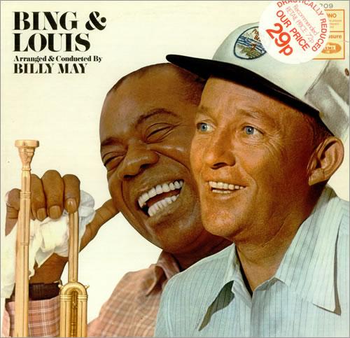 bing crosby louis armstrong bing and louis vinyl lp album lp record uk