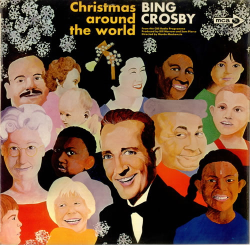Bing Crosby Christmas Album.Bing Crosby Christmas Around The World Uk Vinyl Lp Album Lp