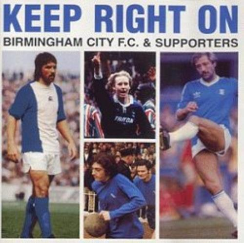 Birmingham City FC Keep Right On CD album (CDLP) UK BH1CDKE351850