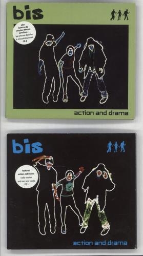 Bis Action And Drama 2-CD single set (Double CD single) UK BIS2SAC269014