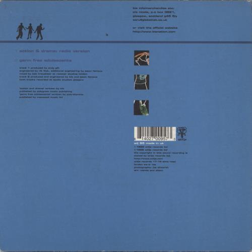 "Bis Action And Drama 7"" vinyl single (7 inch record) UK BIS07AC768670"