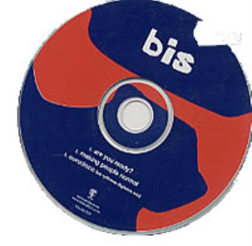"""Bis Are You Ready? Gig CD CD single (CD5 / 5"""") UK BISC5AR241718"""