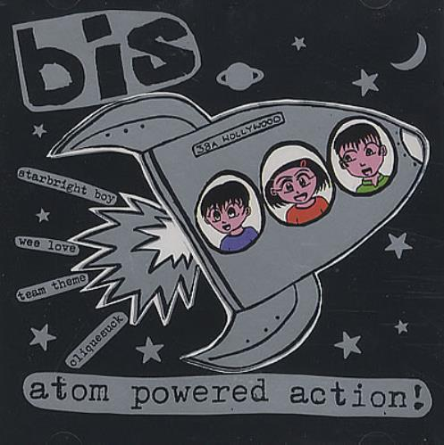 "Bis Atom Powered Action! CD single (CD5 / 5"") UK BISC5AT229997"