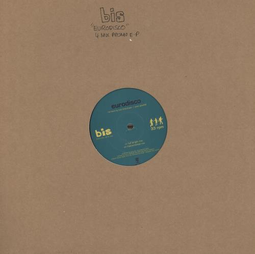 "Bis Eurodisco 12"" vinyl single (12 inch record / Maxi-single) UK BIS12EU125607"