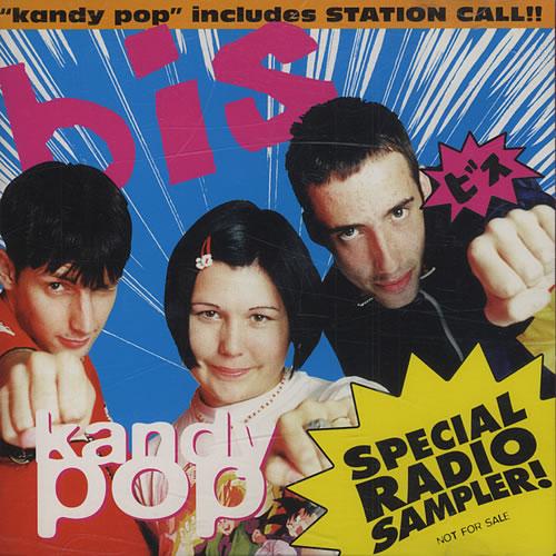 """Bis Kandy Pop - Special Radio Sampler CD single (CD5 / 5"""") Japanese BISC5KA122881"""