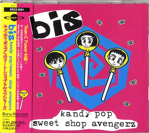 "Bis Kandy Pop CD single (CD5 / 5"") Japanese BISC5KA167809"