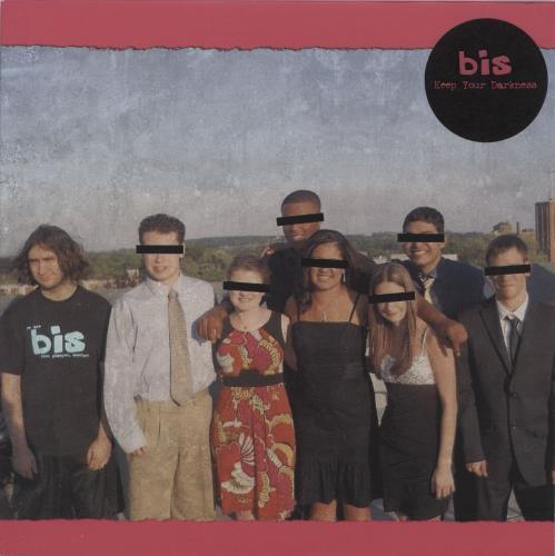 "Bis Keep Your Darkness 7"" vinyl single (7 inch record) UK BIS07KE765264"