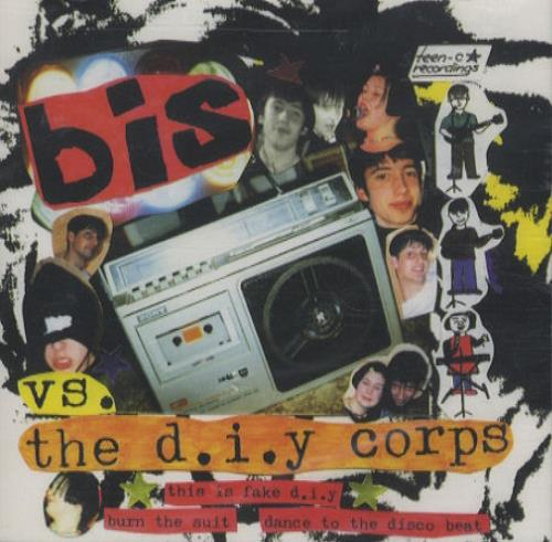 """Bis The D.I.Y Corps CD single (CD5 / 5"""") UK BISC5TH186520"""
