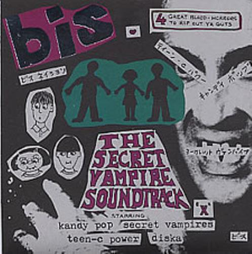 "Bis The Secret Vampire Soundtrack EP 7"" vinyl single (7 inch record) UK BIS07TH64739"