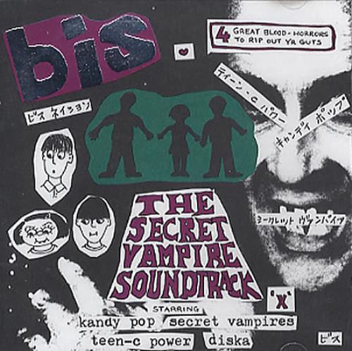 "Bis The Secret Vampire Soundtrack CD single (CD5 / 5"") UK BISC5TH186516"