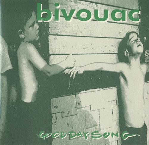 "Bivouac Good Day Song - Lime Green Vinyl 7"" vinyl single (7 inch record) UK B\V07GO503051"