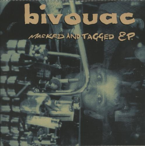 "Bivouac Marked And Tagged EP 10"" vinyl single (10"" record) UK B\V10MA644959"