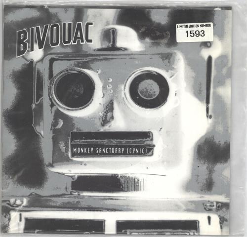 "Bivouac Monkey Sanctuary (Cynic) 7"" vinyl single (7 inch record) UK B\V07MO716811"