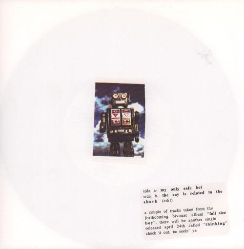 "Bivouac Thinking 7"" vinyl single (7 inch record) UK B\V07TH636412"