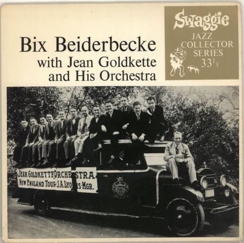 "Bix Beiderbecke Bix Beiderbecke With Jean Goldkette And His Orchestra EP 7"" vinyl single (7 inch record) Australian BB-07BI714288"