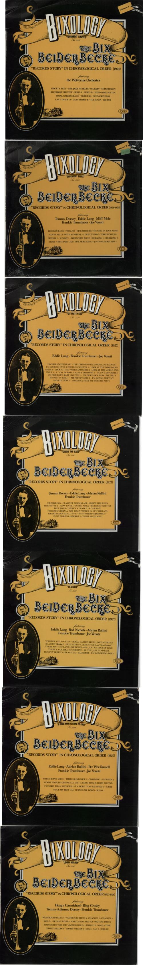 Bix Beiderbecke Bixology vinyl LP album (LP record) Italian BB-LPBI591478