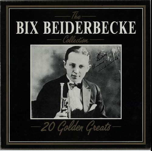 Bix Beiderbecke The Bix Beiderbecke Collection - 20 Golden Greats vinyl LP album (LP record) Italian BB-LPTH626134