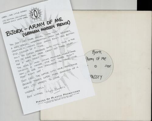 0c4009276fe4 Björk Army Of Me - Massey Remix UK Promo 12